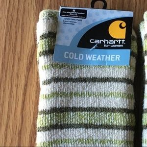 Women's Carhartt Cold Weather Socks NEW! Green 1pr